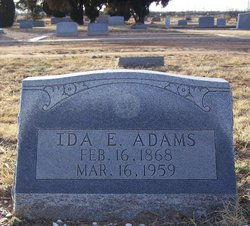 Ida Elizabeth <i>Elkins</i> Adams
