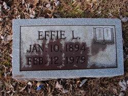 Mary Effie <i>Leftwich</i> Judd