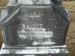 Annie Ruffin Annice <i>Ashe</i> Battle