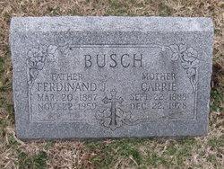 Carrie <i>Trenholm</i> Busch