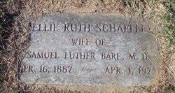 Nellie Ruth <i>Schaeffer</i> Bare