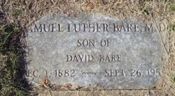 Samuel Luther Bare