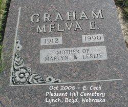 Melva E. <i>McColley</i> Graham