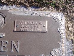 Alberta Grace <i>Hillen</i> Green