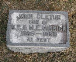 John Cletus Minnick
