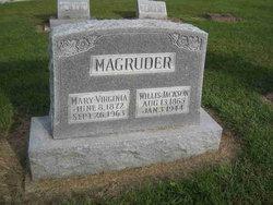 Mary Virginia Mollie <i>Kidwell</i> Magruder