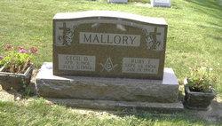 Cecil Dale Mallory