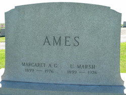 Margaret Adaline <i>Greenlee</i> Ames