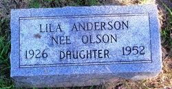 Lila <i>Olson</i> Anderson