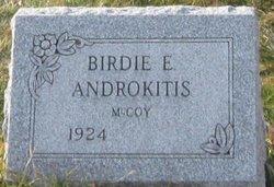 Birdie E <i>McCoy</i> Androkitis