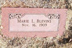 Marie L. <i>Curtis</i> Blevins
