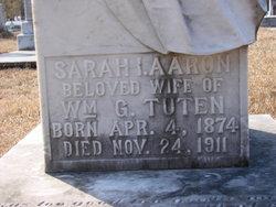 Sarah I <i>Aaron</i> Tuten