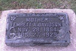 Emrett <i>Anderson</i> Davidson