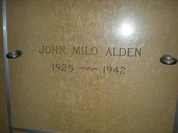 John Milo Alden