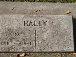 T Roy Haley