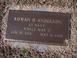 Rowan D Anderson