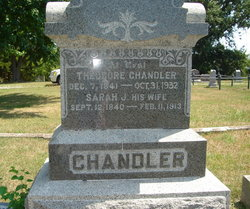Sarah Jane <i>Richardson</i> Chandler