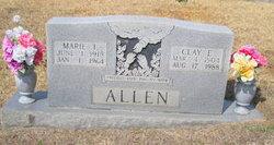 Clay E Allen, Sr