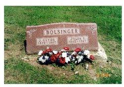Julia Irene <i>Landis</i> Bolsinger