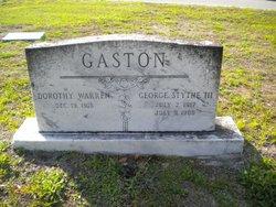 Dorothy Mabel <i>Warren</i> Gaston