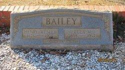 Lula P <i>Moore</i> Bailey