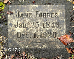 Jane Forbes