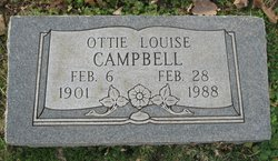Otie Louise <i>Fisher</i> Campbell