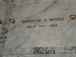 Ambrose Henry Myers
