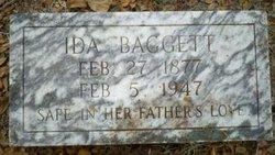 Ida <i>Johnson</i> Baggett