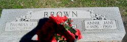 Anna Jane <i>Jones</i> Brown