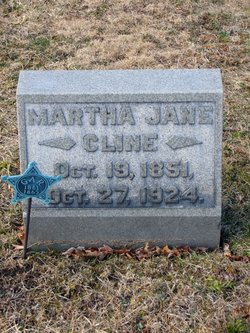 Martha Jane <i>Pecroft</i> Cline
