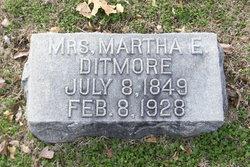 Martha E. Ditmore