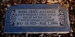 Diana Grace <i>Hawley</i> Alexander