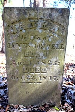 Jane A. <i>Lockhart</i> Boswell