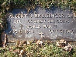 Albert J. Al Breisinger, Sr