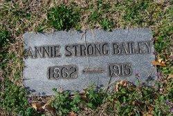 Annie <i>Strong</i> Bailey