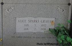 Alice <i>Sparks</i> Graham