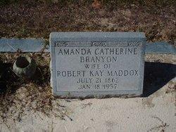 Amanda Catherine <i>Branyon</i> Maddox