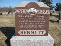 Amanda Louisa <i>Hewett</i> Bennett