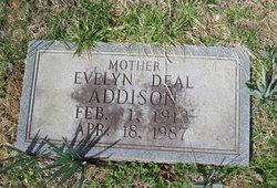 Evelyn <i>Deal</i> Addison