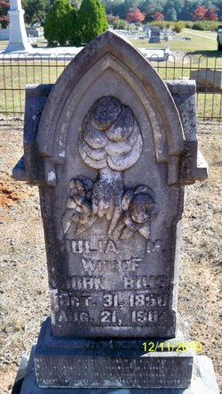 Julia M. <i>Caldwell</i> Bius