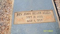 Rev John Heath Allen