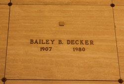 Bailey B. Decker