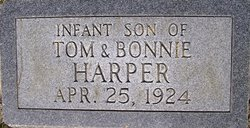 Infant Son of T.H. Harper
