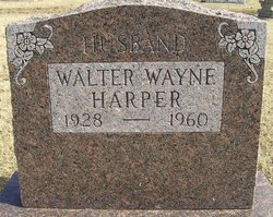 Walter Wayne Harper