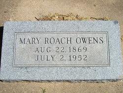 Mary Lee <i>Roach</i> Owens