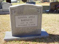 Geneva Carolina <i>Apple</i> Barnett