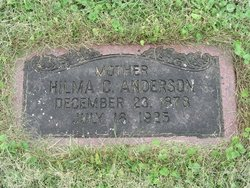 Hilma Carolina <i>Carlson</i> Anderson