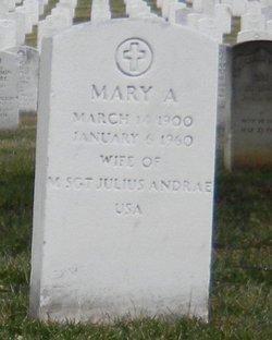 Mary <i>Aufenthie</i> Andrae
