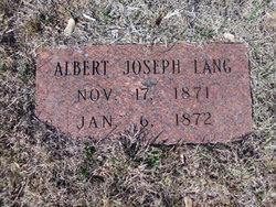 Albert Joseph Lang